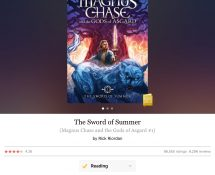 Reading: The Sword of Summer (Magnus Chase #1)